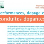 Performances, dopage et conduites dopantes