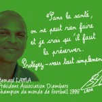 Guyane, regards et paroles croisés contre le sida, Bernard Lama